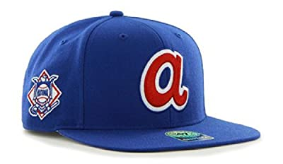 The 47 Brand Big Shot Atlanta Braves Blue Snapback