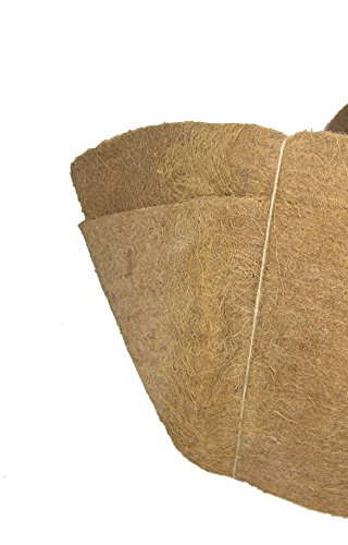55'' Long Molded Coco Fiber Replacement Liners for window hayracks - 2 pk by Garden Artisans