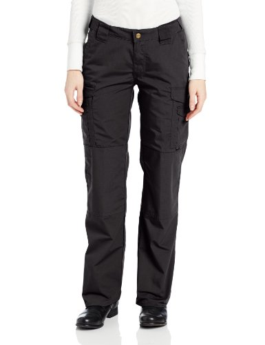 (TRU-SPEC Women's Lightweight 24-7 Pant, Black, 6)