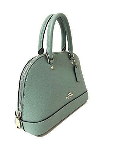 Purse Women��s Mini Aquamarine Satchel Sv Sierra Handbag Inclined Coach Shoulder Shoulder RFgwpqOO