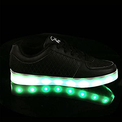 IDEA FRAMES Unisex Kids Adults 7 Colors Light Up Sneakers With USB Charging