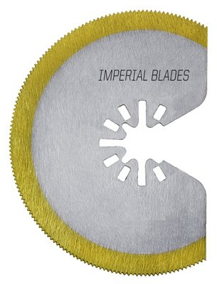 Imperial Blades IBOAT410-1 Oscillating Tool Blade, Segmented HSS Tin Storm, 3-1/8-In. - Quantity 25