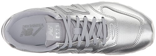 New Balance Women's 696 v1 Sneaker Silver Mink/Metallic buy cheap classic NvHbaW