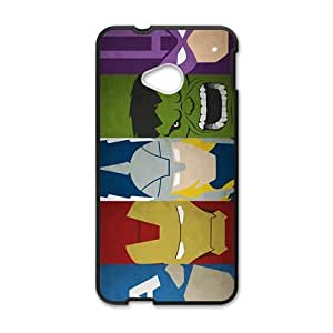 Happy Superman Hot Seller Stylish Hard Case For HTC One M7