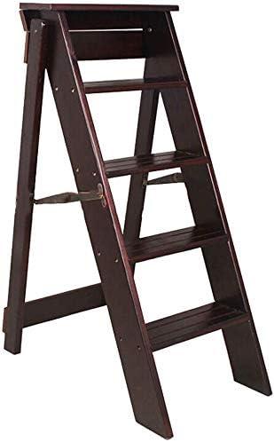 BBG 2 en 1 Ligera heces Multifunctionalfolding Paso portátil plegable, 4 Escalera plegable heces | multifunción Escalera de tijera | Escalera Silla | Herramienta para el jardín Luz de escalera | Asce: Amazon.es: Bricolaje y herramientas