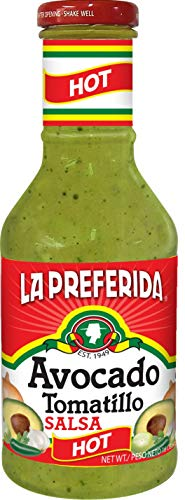 Tomatillo Salsa, Hot, 16 OZ (Pack - 1) ()