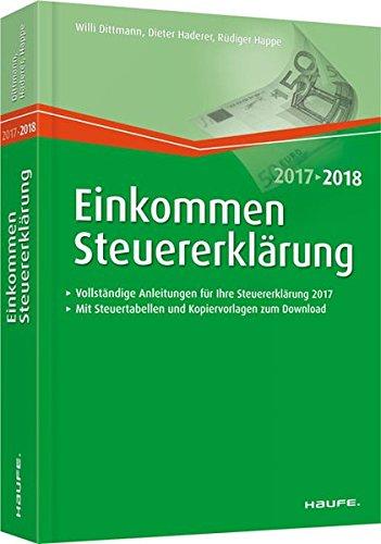 Price comparison product image Einkommensteuererklärung 2017 / 2018