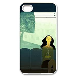 HEHEDE Phone Case Of listening to music Fashion Style Colorful Painted for iPhone 4/4S