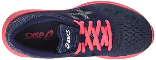 Asics Roadhawk Ff Gs, Zapatillas de Gimnasia Unisex Niños Azul (Insignia Blue/silver/rouge Red)