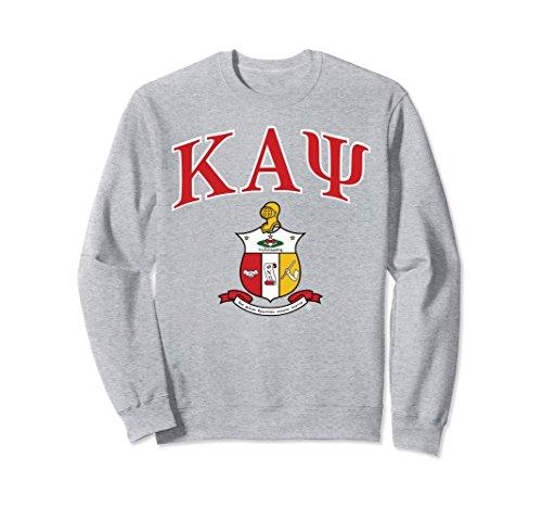 Unisex Kappa Alpha Psi Fraternity, Inc. Sweatshirt Small Heather (Kappa Classic Sweatshirt)