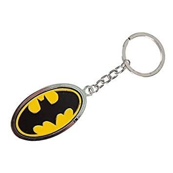 Batman Logo Llavero - Batman llavero llavero Comic: Amazon ...