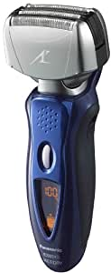 Panasonic ES8243A Men's 4-Blade, Arc 4, Wet/Dry Rechargeable Electric Shaver with Nanotech Blades (Blue)