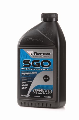 (Torco A257514CE 75W-140 Synthetic Racing Gear Oil)