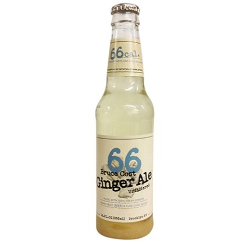 Bruce Cost 66 Ginger Ale, 12 Ounce (Pack of 12)