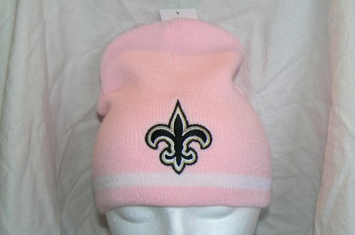 NFL New Orleans Saints Pink Beanie