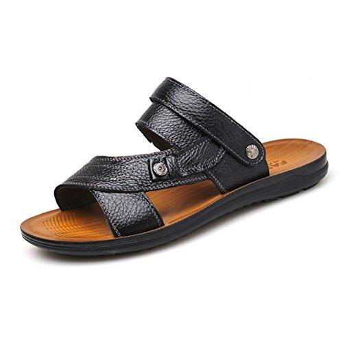 Herren Sommer Sandalen,Stilvolle Lässig Atmungsaktiv Strandsandalen A