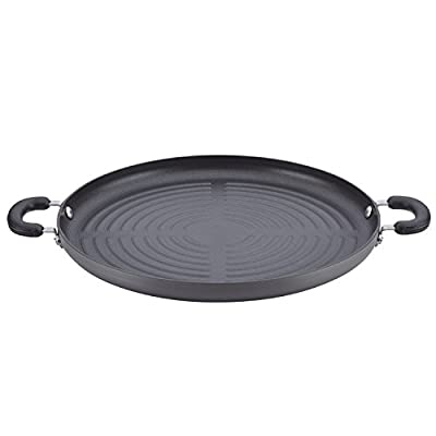 Circulon 83851 Classic Cookware Jumbo Grill Pan, Medium, Gray