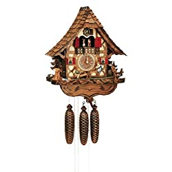 Black Forest 14 Inch Wide Cuckoo Clock by Schneider