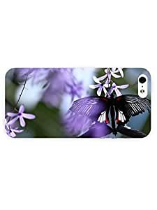 3d Full Wrap Case For Sam Sung Galaxy S4 Mini Cover Animal Butterfly On Flower55