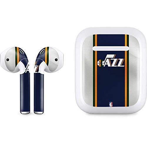 new style aa2e9 1b89a Amazon.com: Skinit Utah Jazz Team Jersey Apple AirPods Skin ...