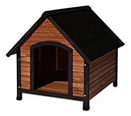 Precision Pet Products Extreme Outback Country Lodge Dog House, Medium
