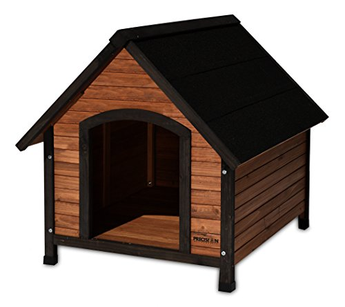 (Precision Pet Products Extreme Outback Country Lodge Dog House, Medium)