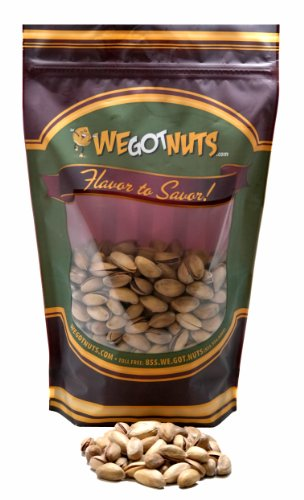 Turkish Pistachios Antep Roasted Salted, Premium, In Shell - We Got Nuts