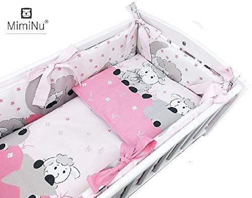 Stillbett Beistellbett Kinder Gitter Himmel Baby Bett Stubenwagen mit Ausstattung