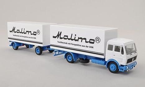 Mercedes Caja remolque, Malimo , Modelo de Auto, modello completo, Herpa 1:87: Herpa: Amazon.es: Juguetes y juegos
