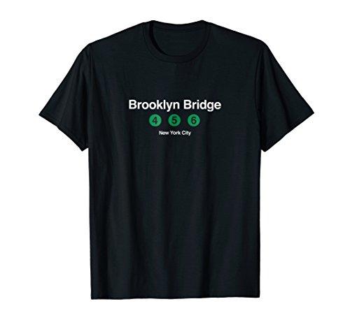 Brooklyn Bridge Subway New York City NYC Graphic T Shirt