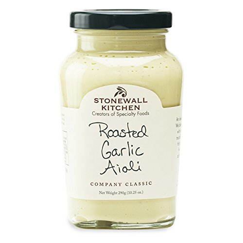 - Stonewall Kitchen Roasted Garlic Aioli, 10.25 Ounce