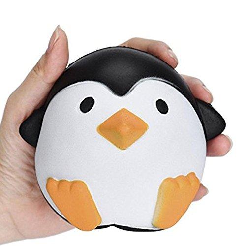 Kawaii Stress Relief Spielzeug PU Simulation Pinguin Slow Rising Spielzeug mit Duft Nettes Anti-Stress Dekompression Spielzeug fü r Kinder und Erwaschsene Newin Star