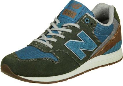 New Balance MRL996 Calzado verde azul marrón