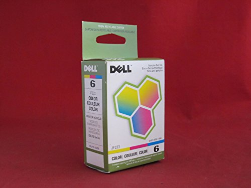 OEM Dell AIO 810 Color Ink Cartridge, Series (Dell Jf333 Colour)