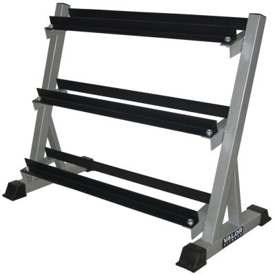 Valor Fitness BG-12 Dumbbell Rack 3-Tier by Valor Fitness
