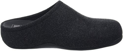 Fitflop Clogs Men's Shuv Black Felt Black ApfAtwxq