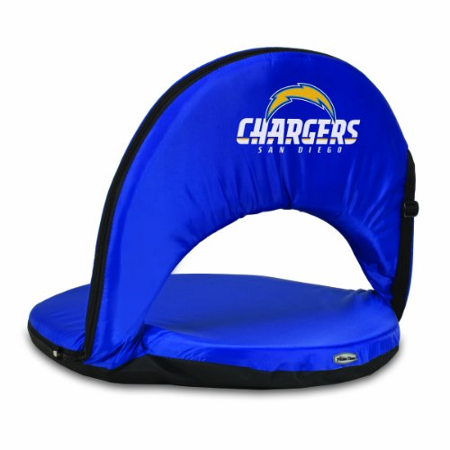 NFL San Diego Chargers Oniva Portable Reclining Seat, Navy