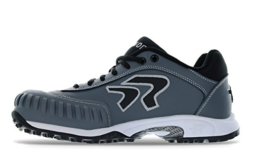 Ringor Dynasty Turf Shoe- Pitching 12.0 Charcoal/Black by Ringor