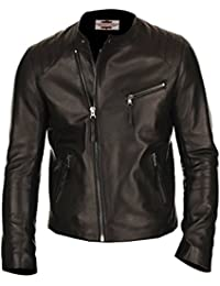 "<span class=""a-offscreen"">[Sponsored]</span>Paramount Leather's Classy Men's Shiny Lambskin Leather Jacket"