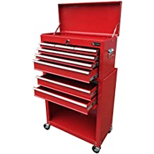 Excel TB220XAB-Red 24-Inch Steel Chest Roller Combination, Red