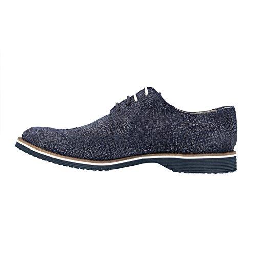 Bleu Enver 32270 plongée Sioux pour Bleu Homme de 365977 Chaussures gp5z4w
