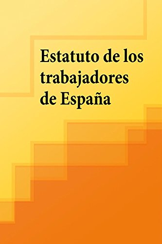 Descargar Libro Estatuto De Los Trabajadores De España 2016 España
