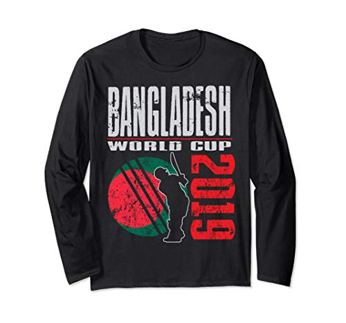 Bangladesh World Team Cricket 2019 T Shirt Gifts Long Sleeve T-Shirt