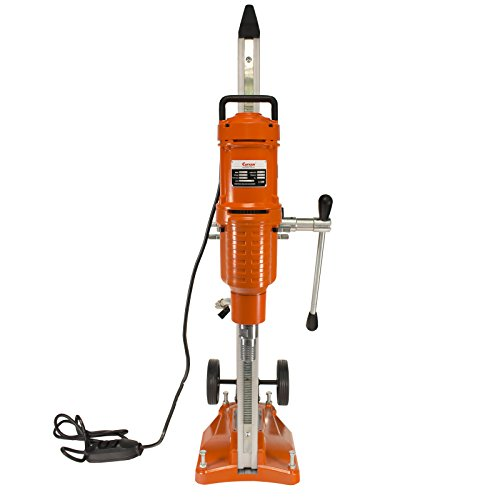 Cayken 10'' Diamond Core Drill Rig with 650F Adjustable Angle Vacuum Plate Stand by CAYKEN