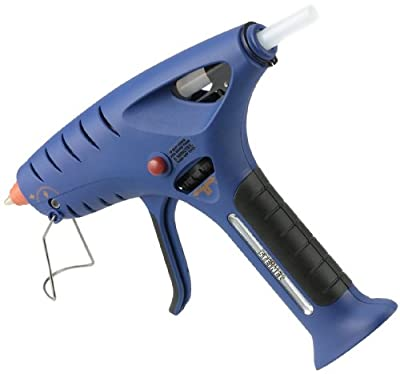 "Steinel TM 6000 Butane Glue Gun - cordless butane powered glue gun, runs up to 100 minutes on the easily refillable LEC, portable melting gun provides fast and even adhesive flow with 1/2"" diameter glue sticks, 76000"