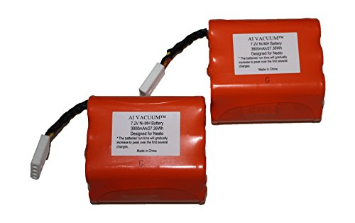 Super Extended 3800mAh Battery 2-Pack for Neato XV Series