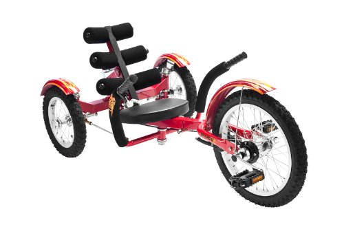 Mobo Mobito (Red) Ultimate Three Wheeled Cruiser