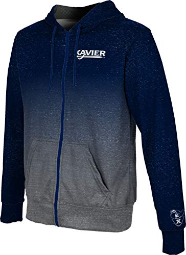ProSphere Xavier University Men's Full Zip Hoodie - Gradient FE9E - University Fabric Fleece Xavier