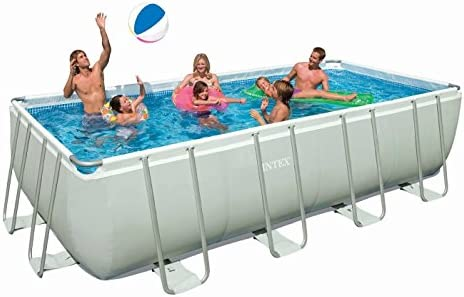 Intex 54482 Ultra Frame Pool 549 x 274 x 132 cm: Amazon.es: Jardín