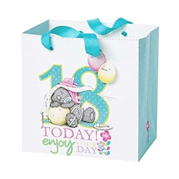 Medium 18th Birthday Me To You Bear Gift Bag Amazoncouk Toys Games